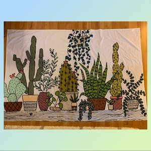 Plant tapestry